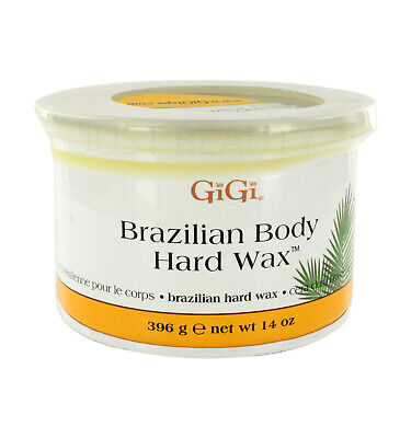 GiGi Brazilian Body Hard Wax Non-Strip Formula for Delicate Sensitive Areas 396g