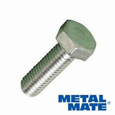 A2 Stainless Steel Hexagon Head Fully Threaded Set Screws Bolts  M4,m5,m6,m8