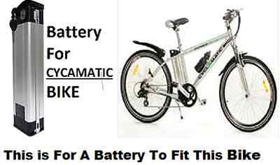 CYCLAMATIC Power Plus 24v 11ah Battery Li-ion and Charger Brand New