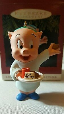 1993 Hallmark Ornament  PORKY PIG   Looney Tunes Collection