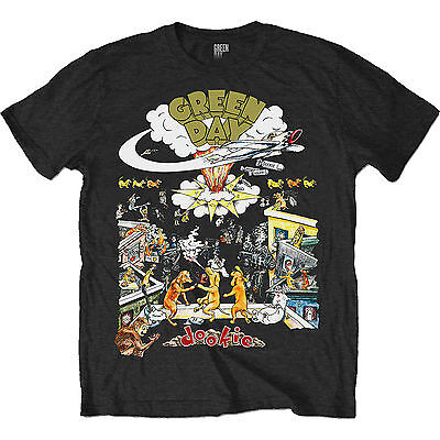 Green Day Dookie 1994 Tour OFFICIAL American Idiot Unisex T-Shirt up to XXL B5