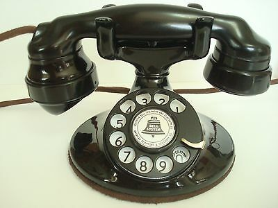 Antique Restored Original Early 1930s Western Electric 202 Telephone works rings