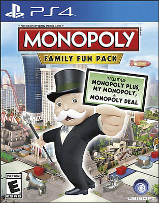 Monopoly Family Fun Pack - PS4 Game - BRAND NEW SEALED