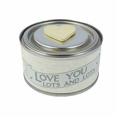 East of India Candle 'Love you lots and lots'