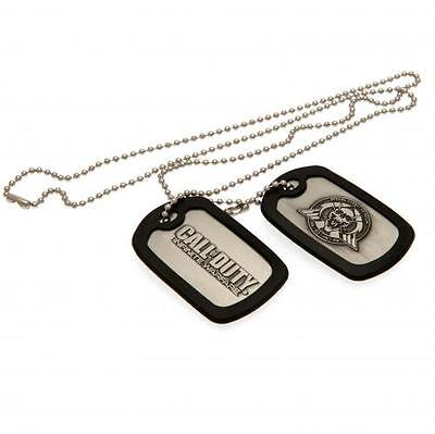 Call Of Duty Infinite Warfare Dog Tags Necklace Gift Official Licensed Product