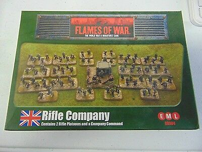 Flames Of War 1St Edition British Rifle Company Bbx04  New!!! Gm90