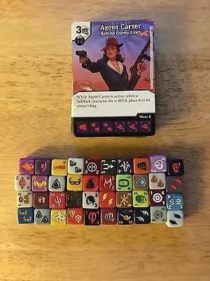 Marvel Dice Masters Deadpool Complete Set of Commons