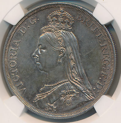 Great Britain Victoria Crown 1887 - NGC MS 62