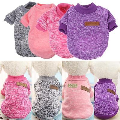 New Pet Coat Dog Jacket Cat Sweater Warm Winter Clothes Puppy Clothing Apparel