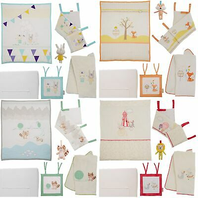Tutti Bambini 7 Piece Nursery/Childrens Quilt/Sheet/Blanket Bedding Bundle