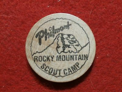 Philmont Wooden Nickel - Rocky Mountain Scout Camp NAYLE
