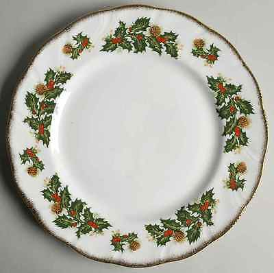 Rosina Queens YULETIDE (SCALLOPED) Cotswold Dinner Plate 5450841