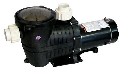 Energy Efficient 2 Speed Pump for In-Ground Pool 1.5 HP-230V with Fittings