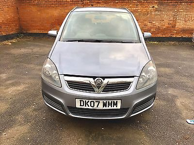 2007 Vauxhall Zafira Stunning Example Very Good Condition Inside Out