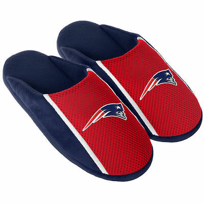 Pair New England Patriots Jersey Slide Slippers - Team Color House shoes JRS16