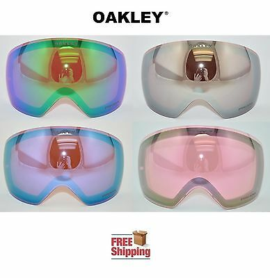Oakley® Brand Flight Deck™ Goggle Replacement Lens Choose - Color Mirror Prizm