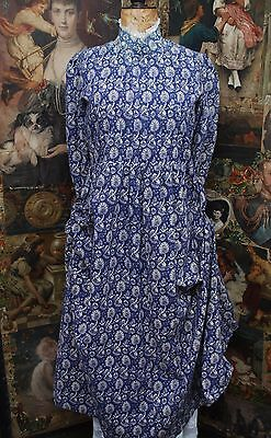RARE Mythical Design Vintage Laura Ashley Made In Holland Label Size 12+ Dress