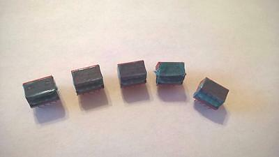 ZML37 Lot of 5pcs 76PSB04S DIP Switch 4Pos Piano SPST 30VDC 150mA R/A T/H PC Pin