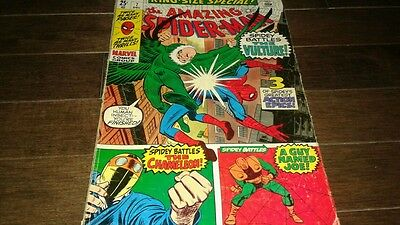 The Amazing Spider-Man Annual #7 (Dec 1970, Marvel) FINE..VULTURE CHAMELEON!!!!!
