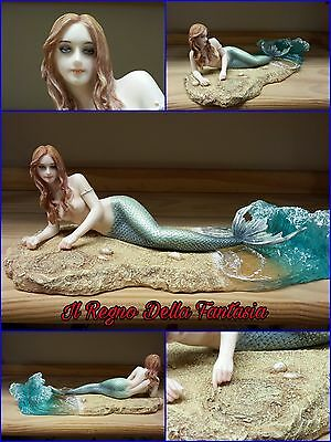 Fairy Elfen Fees Fata Veronese Siren Mermaid Sirena Waiting  By Selina Fenech