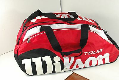 Wilson Tour Racquet Bag (red/black/white) 28 14 14