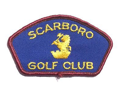 Scarboro Golf Club (Toronto) Embroidered Patch
