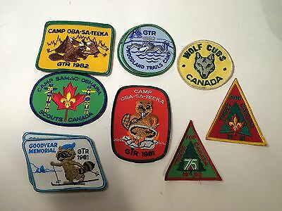Boy Scout Patch Collection