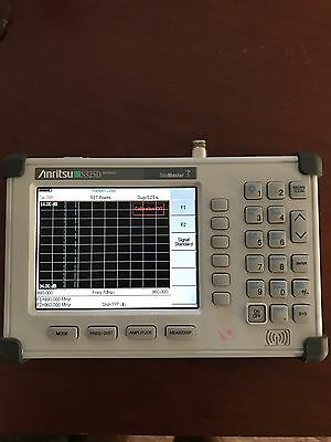Anritsu / S325D / Site Master Cable, Antenna Analyzer, w/standerd acc included