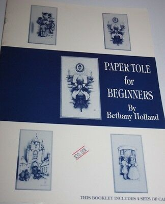 Paper Tole for Beginners by Bethany Holland craft book