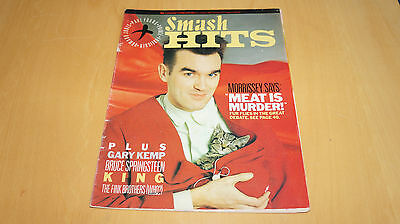 The Smiths - 1985 Smash Hits Magazine with Morrissey Interview