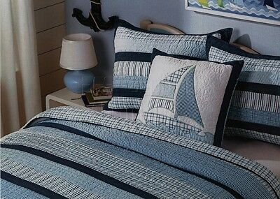 100% Cotton Coverlet / Bedspread Set Single & King Single Size Bed 173x218CM