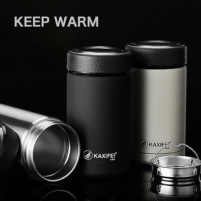New Stainless Steel Vacuum Insulated Thermos Travel Mug Water Bottle Flask Cup