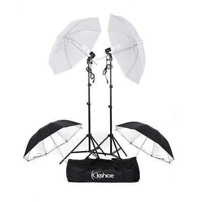 Hot Photo Video Studio White Umbrella Reflector Photography Stand Lighting Kit