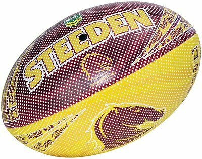 Steeden NRL Team Beach Ball - Broncos, Cowboys, Storm, Eels, Sharks
