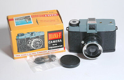 Vintage Diana F Edition 120 Film  Camera  w/Synchronization  Model # 162B+Box/St