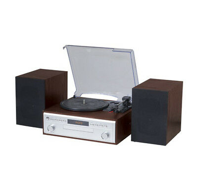 Turntable Stereo Hi Fi with CD player Includes remote control CD Player