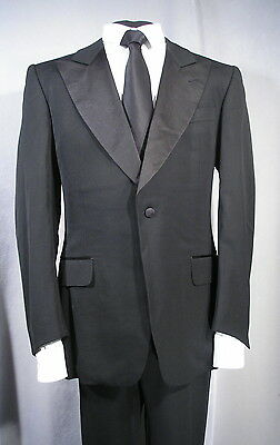 Current £3495 YSL Yves Saint Laurent Gucci Made SILK Tuxedo Dinner Suit 40 50