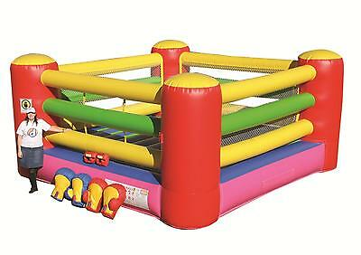 Commercial Inflatable Boxing Ring - 3 years warranty - AS3533.4.1 approved