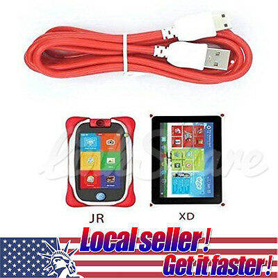 US SHIP Charger Power Cable Cord For Fuhu Nabi DreamTab DMTab Jr XD Kids Tablet