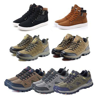 MENS WORK BOOTS WATERPROOF MENS BOOTS SHOES HIKING WINTER Chukka BOOTS