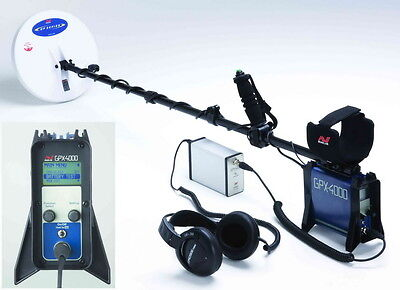 Metal detector Minelab GPX 4500 for search gold + accessories PROFESSIONAL
