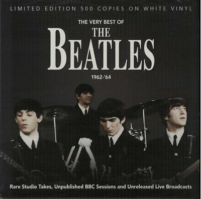 The Beatles - Very Best Of 1962-1964 - Limited White Vinyl LP *NEW & SEALED*