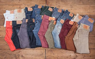 20 x Pairs Mens Womens Wholesale Vintage Levis Levi 501 GRADE A JEANS Job Lot L6