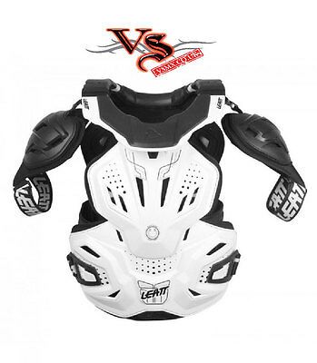 Leatt Neckvest Fusion 3.0 Adult Black Or White S, M, Xxl Motocross Enduro