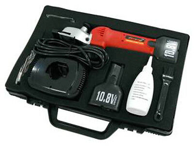 Neilsen 10.8 Volt Cordless Horse Barber clippers 2 x 10.8v Li-ion Batteries New