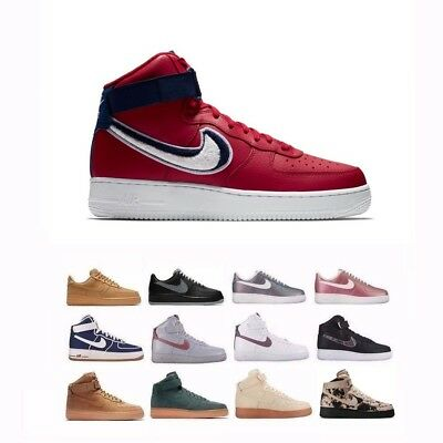 806403 Nike Air Force 1 Low High '07 LV8 Fashion Lifestyle Shoes Men's 718152