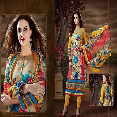 New Anarkali Salwar Kameez Designer Pakistani Party Suit Indian Bollywood Dress