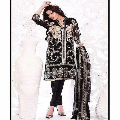 Ethnic Bollywood Designer Party Wear Pakistani Salwar Kameez Indian Dress