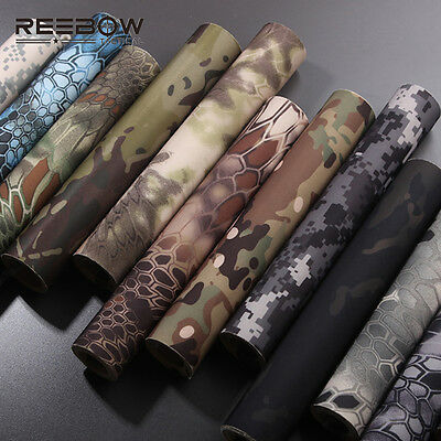 Outdoor Military Self Adhesive Camouflage Tape 150x30cm Super Elastic Tape