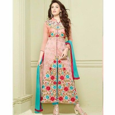 Bollywood Anarkali Salwar Kameez New Pakistani Designer Indian Party Wear Suit